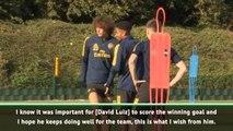 Gilberto Silva backs Luiz to match 'high expectations' at Arsenal