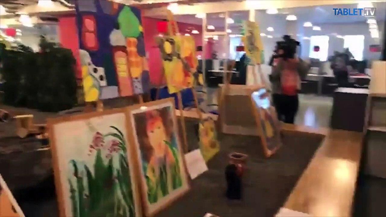 ZÁZNAM: Otvorenie výstavy Národná prezentácia umenia handicapovaných umelcov