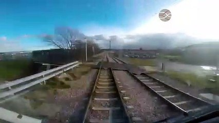 The Edinburgh tram route in two minutes