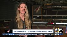 Arizona Coyotes hope to lead NHL as team with most female leaders