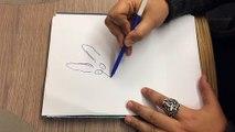 """Comment dessiner """"Le chat du rabbin"""", la lecon de dessin de Joann Sfar"""