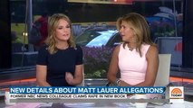 'Today' Hosts Savannah Guthrie And Hoda Kotb React To New Matt Lauer Allegations: 'Disturbed To Our Core'