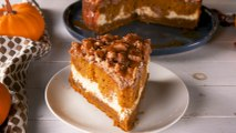 Pumpkin Cream Cheese Coffee Cake Is Your Fall Wake Up Call