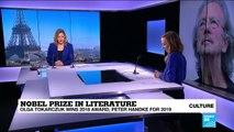 Poland's Tokarczuk and Austria's Handke win Nobel literature prizes