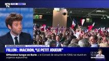 """François Fillon: Emmanuel Macron, """"le petit joueur"""" (1/2) - 10/10"""