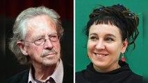 El Nobel premia la agudeza de Tokarczuk y el ingenio lingüístico de Handke