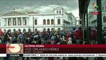 teleSUR Noticias: Ecuador: Fuerte represión a protestas en Quito