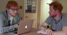 « Nous sommes roux et nous allons nous battre » : sur le ton de l'humour, Ed Sheeran et le Prince Harry s'unissent pour une cause sérieuse