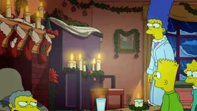 The Simpsons Season 26 Episode 9 I Won't Be Home for Christmas