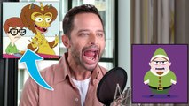 Nick Kroll Improvises 7 New Cartoon Voices