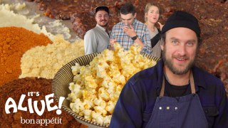 Brad Makes Fermented Popcorn Seasoning