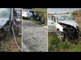 Ora News - Aksident në Shijak, humbin jetën dy shoferë