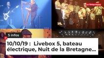 Livebox 5, bateau électrique, Nuit de la Bretagne... Cinq infos bretonnes du 10 octobre