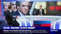 """François Fillon: Emmanuel Macron, """"le petit joueur"""" (2/2) - 10/10"""