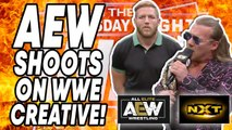 AEW SHOOTS On WWE Creative! AEW Dynamite & WWE NXT Oct 9, 2019 Review! WrestleTalk