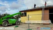 285 panneaux photovoltaïques pour le bâtiment communal des Bouchoux