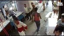 ग्राहक बुलाने को लेकर खूनी संघर्ष