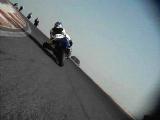 Kawasaki ZX6RR circuit Ledenon départ en qualification 600