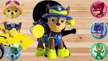 Disney Toys Paw Patrol Puzzles Game For Kids, Fun Learn Name Super Heros PJ Masks Toys For Kids