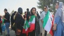 Las mujeresiraníes hacen historia con su entrada al estadio Azadi