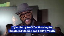 Tyler Perry Does Good Deeds