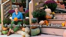 Hey Y'all - Fall Porch Decorating