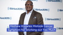 Mathew Knowles' Physical Fitness