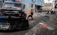 Reportan cinco muertos por protestas en Ecuador