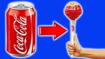 DIY - ЧУПА-ЧУПС из КОКА-КОЛЫ  Coca cola . Как сделать его дома