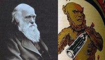 ¿Sabías que el simio de la etiqueta del histórico 'Anís del Mono' tiene la cara de Darwin?