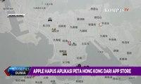 Apple Hapus Aplikasi Peta Hong Kong dari App Store