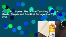 About For Books  The Online Teaching Survival Guide: Simple and Practical Pedagogical Tips, 2nd
