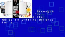 [BEST SELLING]  Strength Training Bible for Women: The Complete Guide to Lifting Weights for a