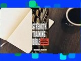 [GIFT IDEAS] Strength Training Bible: The Complete Guide to Lifting Weights for Power, Strength &