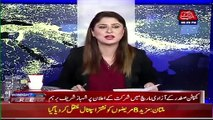 Shaukat Basra faces embarrasment in live show after he claimed about forward bloc in PMLN