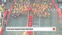Get a sneak peek at what conditions may be like at the Chicago Marathon