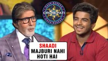 Amitabh Bachchan's FUNNY COMEDY With Contestants Surbhi Dave & Sunny Prajapati | KBC 11