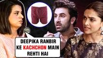 Rangoli Chandel INSULTS Deepika Padukone Ranbir Kapoor's Relationship