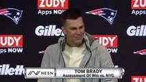 Tom Brady Patriots vs. Giants Week 6 Postgame Press Conference