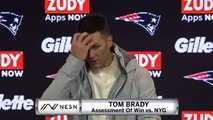 Tom Brady On Patriots Win vs. Giants