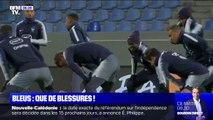 Euro 2020: de nombreux blessés dans l'effectif de l'équipe de France pour son match face à l'Islande