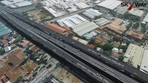 Bird's eye-view of the Alabang-Sucat Skyway Connection