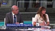 """La 'progre' Carmen Morodo dice que el prior del Valle de los Caídos acabará en VOX y a Griso casi le da un infarto: """"¡Ay, por favor!"""""""