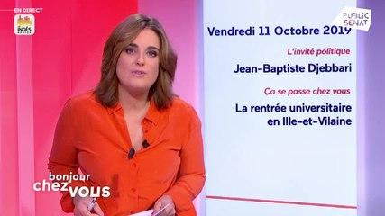 Jean-Baptiste Djebbari - Public Sénat vendredi 11 octobre 2019