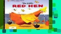 [MOST WISHED]  LGB The Little Red Hen (Little Golden Book Series)