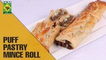 Puff Pastery Mince Roll | Dawat | MasalaTV Show | Abida Baloch