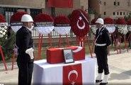 Barış Pınarı Harekatı'nın ilk sivil şehitleri son yolculuğuna uğurlandı