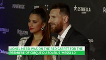 Messi attends premiere of Cirque du Soleil production about his life