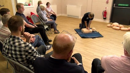 How to use a defibrillator and save someone's life