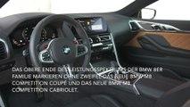 Das neue BMW M8 Coupé Interieur Design
